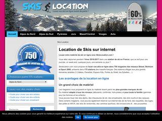 Louez vos skis sur skislocation