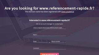 Référencer un site web