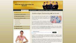 La solution du crédit en ligne