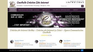 Cnathalie votre agence web réalisation et création site internet La Ciotat